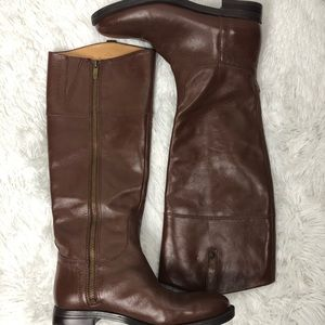 Enzo Angiolini Eaellerby Leather Riding Boots